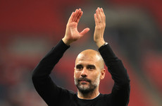 Pep Guardiola will play golf as City await title