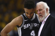 Popovich says Spurs 'looked like a deer in headlights' in loss to Warriors