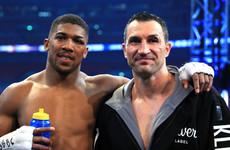 Klitschko backs Joshua to beat Fury, but believes Wilder would be 'dangerous fight'