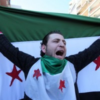 Syrian security forces 'using human shields'