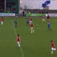 Sligo midfielder scores from inside his own half – but should the goal have stood?