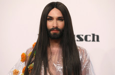 Conchita Wurst shared her HIV positive status following threats from her ex boyfriend
