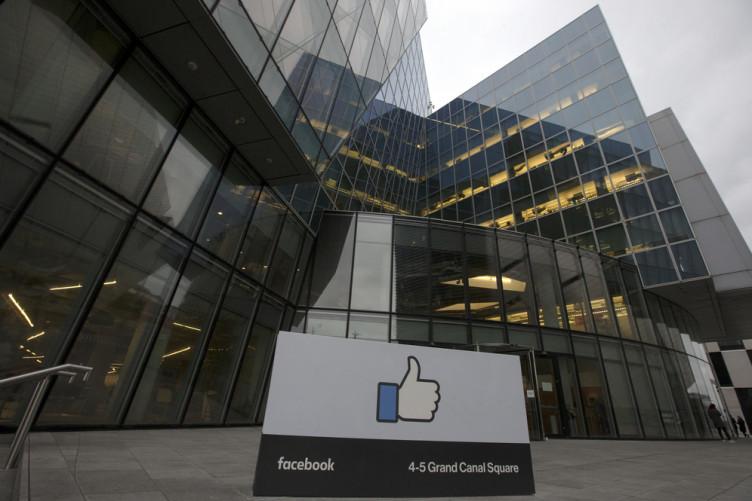 Facebook European HQ in Dublin's Docklands.