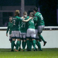 Struggling Bray claim first win of the season at 10-man Shamrock Rovers' expense