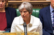 May criticised for Syria air strikes with Corbyn accusing her of bowing to 'whims of the US president'