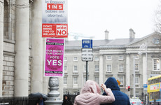 Dublin City Council has received 30 complaints about referendum posters