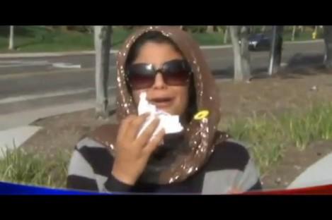 The victim's daughter, Fatima Al Himidi, aged 17