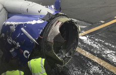US flight forced into emergency landing after engine explodes mid-journey
