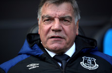 Everton have asked their fans to rate Big Sam's performance as manager