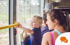 Column: 'Don't judge a commuting parent. Smile at that noisy toddler'