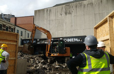 Demolition of Dublin's iconic Screen cinema begins