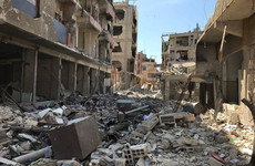 Chemical inspectors await all-clear to begin work in Douma