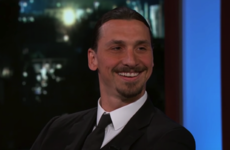Zlatan declares on Jimmy Kimmel Live: 'I'm going to the World Cup'
