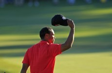 Tiger gets back to what he does best... winning
