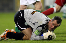 Shamrock Rovers re-sign Alan Mannus as his contract expires in Scotland