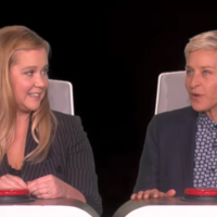 Amy Schumer told Ellen she hates Rod Stewart... among other very questionable confessions