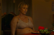 Charlize Theron had to set alarms in the middle of the night to eat junk food for her latest role