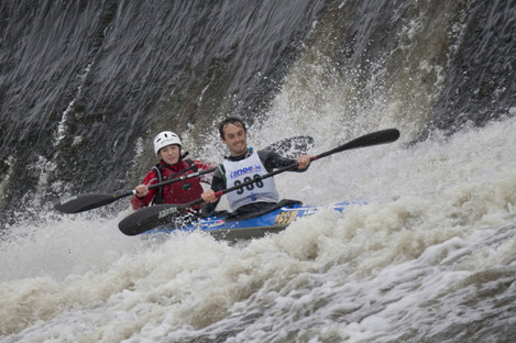 Whitewater kayaking could soon be possible in the city centre.