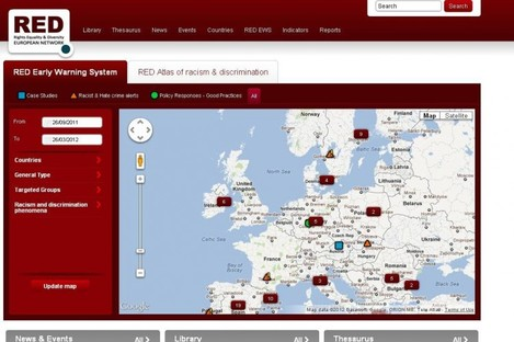 Screengrab of the RED Network website