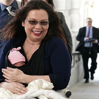 Ten-day-old baby becomes first-ever baby on the floor during a session of the US Senate
