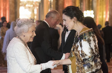 New Zealand's leader Jacinda Ardern wore a traditional Māori cloak to meet the Queen