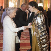 New Zealand's leader Jacinda Ardern wore a traditional Māori cloak to meet the Queen