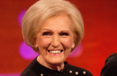 Mary Berry carried bags of white powder through an airport, and was promptly arrested