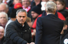 Mourinho: I always had respect for Wenger and I hope he doesn't retire