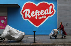 The Repeal The Eighth mural in Temple Bar is being taken down... again