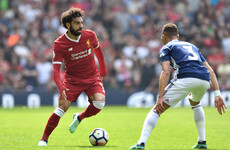 West Brom rally to snatch draw as Mo Salah equals goal record for 38-match Premier League season