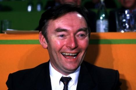 Pádraig 'Pee' Flynn at the Fianna Fáil Árd-Fheis in 1989: Flynn has this afternoon resigned his membership of the party.