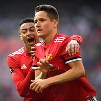 Herrera the hero at Wembley as Man United book FA Cup final spot