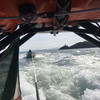 Five people rescued after boat broke down and started to take on water