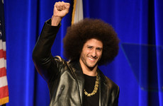Kaepernick honoured with Amnesty International award
