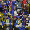 Barca hammer Sevilla to win 30th Copa del Rey