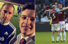 From fan to team-mate in four short years and more sporting tweets of the week