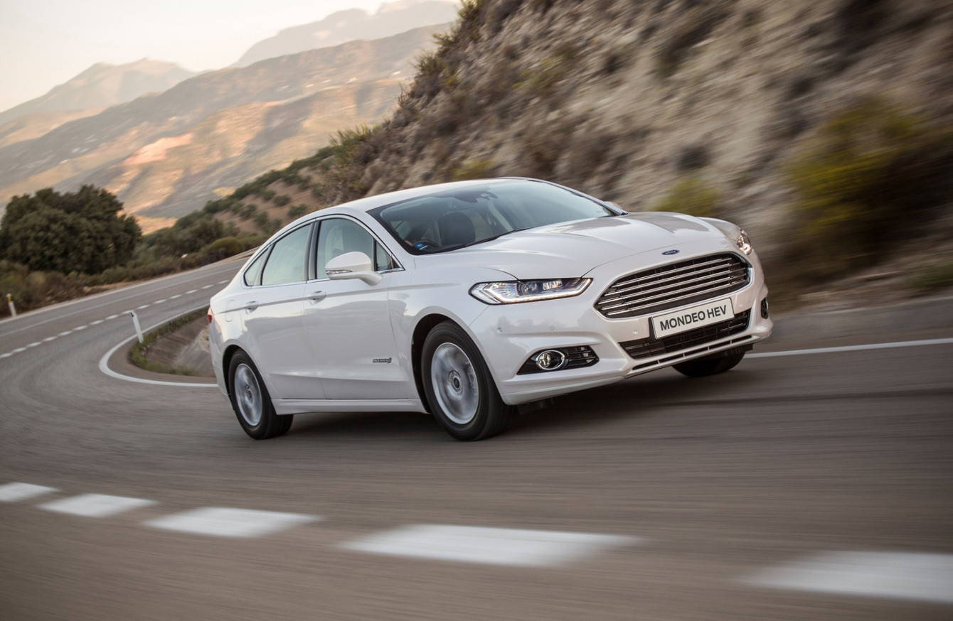 the new ford mondeo hev has arrived in ireland