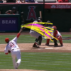 Baseball player faces record 21 pitches in unprecedented 13 minutes at bat