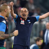 Napoli coach Sarri gives finger to 'spitting' Juve fans