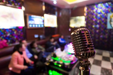 File photo of a karaoke lounge in China