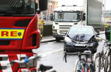Gardaí investigating if car in four-vehicle crash on Dublin's south quays involved in two other collisions