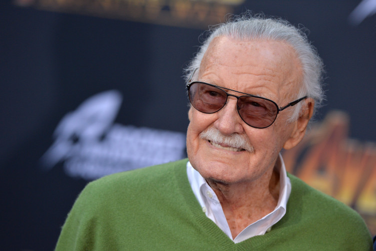 Stan Lee attends the premiere of Avengers: Infinity War yesterday.