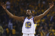 Durant drops 25 as Warriors send Spurs packing, while Sixers take next step in 'The Process'