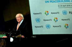 Michael D Higgins invokes spirit of Good Friday Agreement in address to UN General Assembly