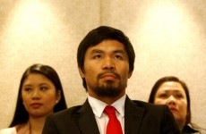 Manny Pacquiao vows not to follow Floyd into jail