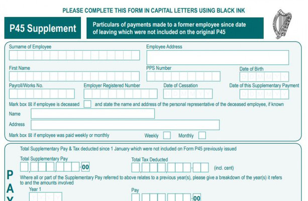 Revenue to scrap P60 and P45 forms in bid to modernise PAYE