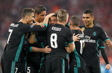 Real Madrid recover from early setback to put themselves on course for Champions League final