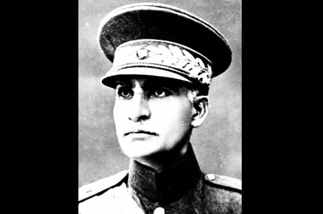 Reza Shah Pahlavi, founder of the Pahlavi dynasty.