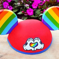 Here's why Disney releasing rainbow Mickey Mouse ears for Pride Month is a bit of a cop-out
