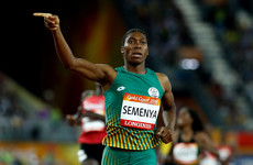 Caster Semenya could be affected by new rules for female athletes with high testosterone levels